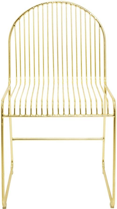 På billedet ser du variationen Spisebordsstol, Friend fra brandet Bloomingville i en størrelse H: 81 cm. B: 51 cm. L: 47 cm. i farven Guld