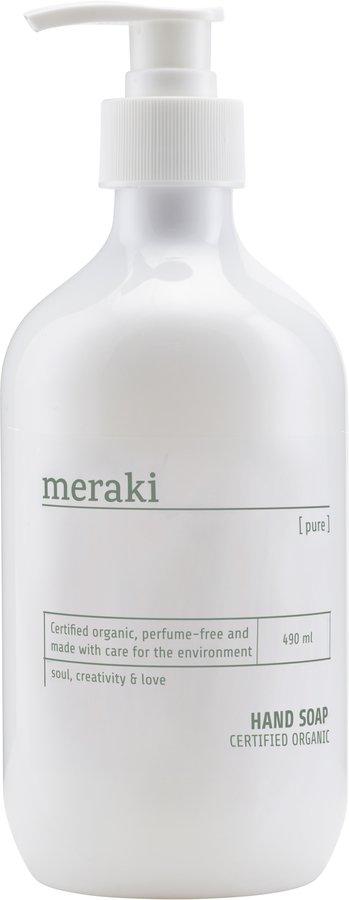 På billedet ser du variationen Håndsæbe, Pure fra brandet Meraki i en størrelse 490 ML. i farven Hvid