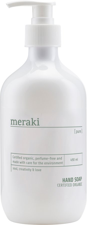 Image of   Håndsæbe, Pure by Meraki (490 ML., Hvid)