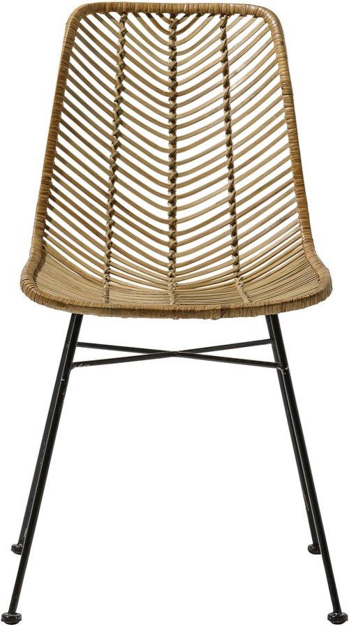 På billedet ser du variationen Spisebordsstol, Lena fra brandet Bloomingville i en størrelse H: 86 cm. B: 42 cm.