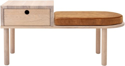 På billedet ser du variationen Bænk, Lenny fra brandet Creative Collection i en størrelse H: 48 cm. B: 40 cm. L: 102 cm.
