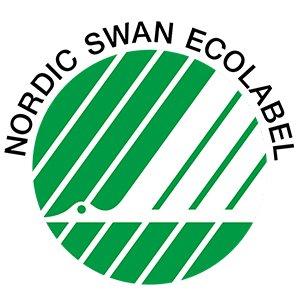 Produktet er Nordic Swan Ecolabel certificeret
