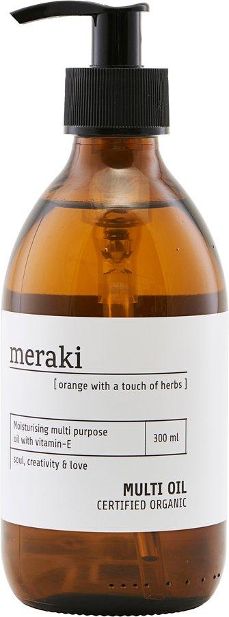 På billedet ser du variationen Olie, 300 ml. fra brandet Meraki i en størrelse 300 ML. i farven Hvid