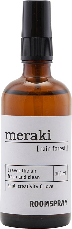 Image of   Room spray, Rain forest by Meraki (100 ML., Sort)
