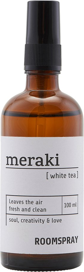 Image of   Room spray, White tea by Meraki (100 ML., Sort)