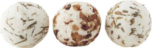 På billedet ser du variationen Sæbe bold til kar eller spabad, shea butter fra brandet Meraki i en størrelse 1 BOLD, 45 G i farven Hvid