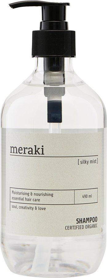 På billedet ser du variationen Shampoo, Silky mist fra brandet Meraki i en størrelse Ø: 7 cm. H: 19 cm. i farven Transparant