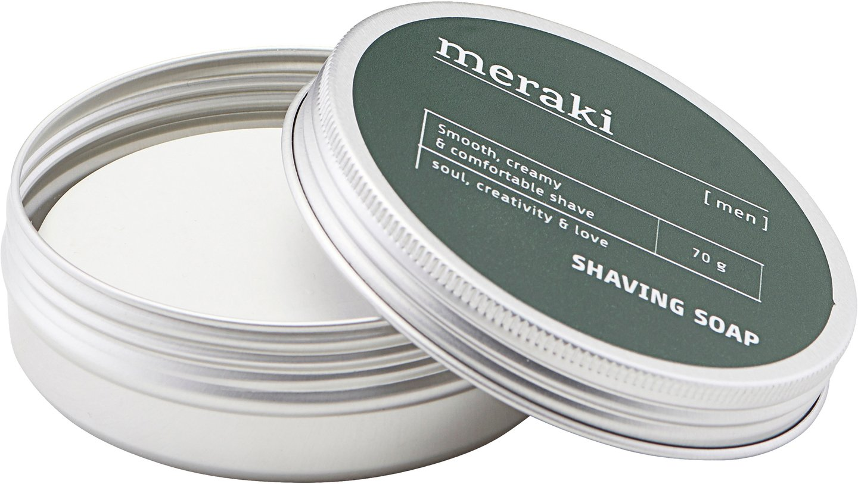 Image of   Shaving soap, Men by Meraki (70 G., Grå)