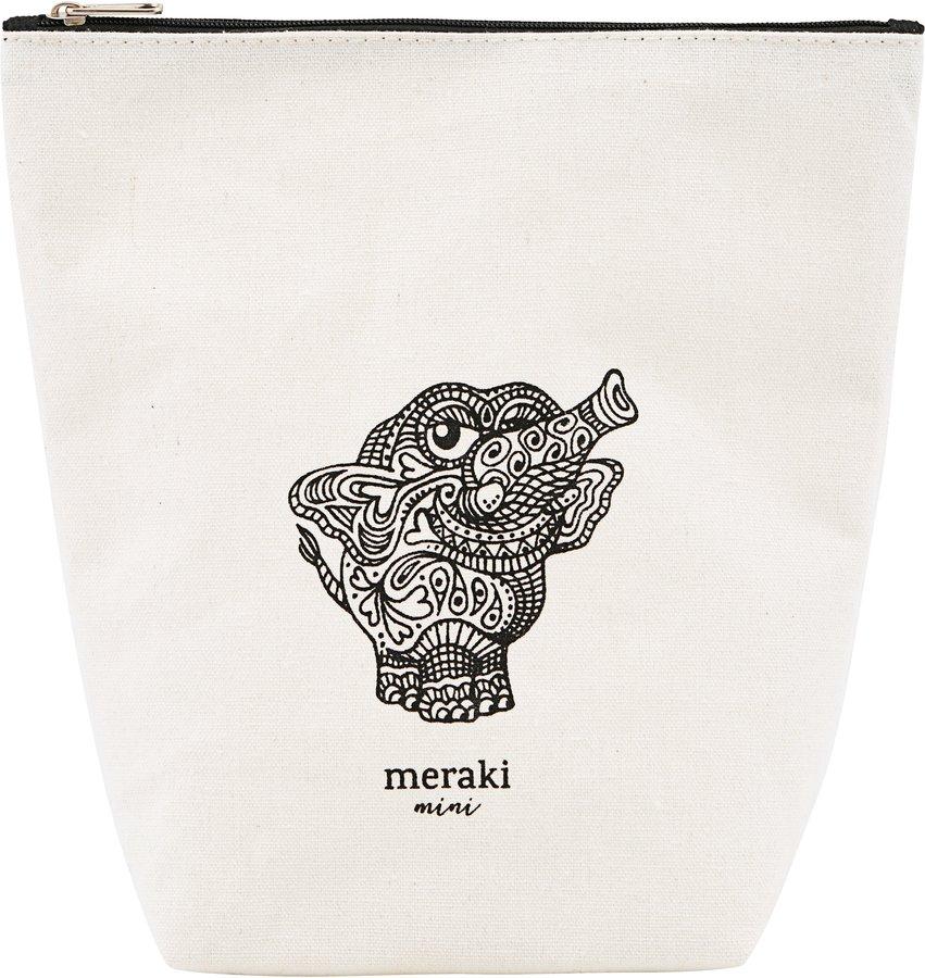 Toilettaske, Doddy by Meraki (H: 14,5 cm. B: 6,5 cm. L: 21 cm., Hvid)