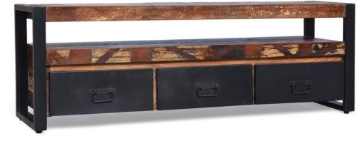 På billedet ser du Tv-bord, Christiania HipStack fra brandet OBUZI i en størrelse H: 50 cm. B: 150 cm. L: 40 cm. i farven Multi