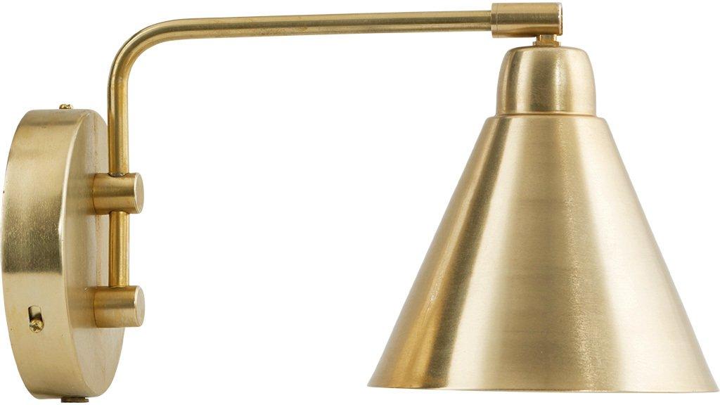 Køb Game, Væglampe by House Doctor (D: 20 cm., Messing)