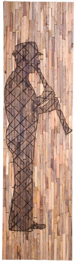 På billedet ser du variationen Agra, Vægdekoration fra brandet Nordby i en størrelse H: 183 cm. B: 3 cm. L: 50 cm. i farven Natur