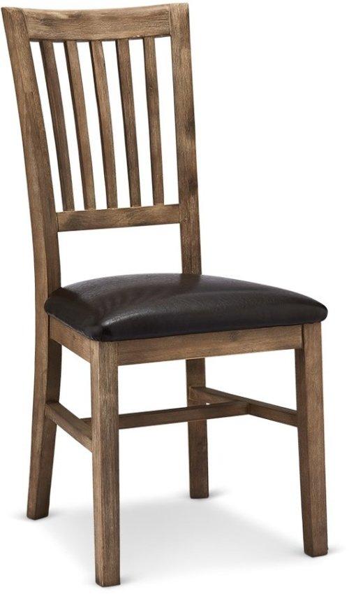 På billedet ser du variationen Boston, Spisebordsstol, Akaciatræ fra brandet Raymond & Hallmark i en størrelse H: 102 cm. B: 47 cm. i farven Brun