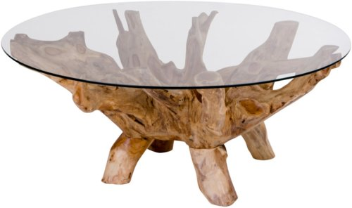 På billedet ser du variationen Amazonas, Sofabord fra brandet Nordby i en størrelse H: 50 cm. B: 110 cm. L: 110 cm. i farven Natur