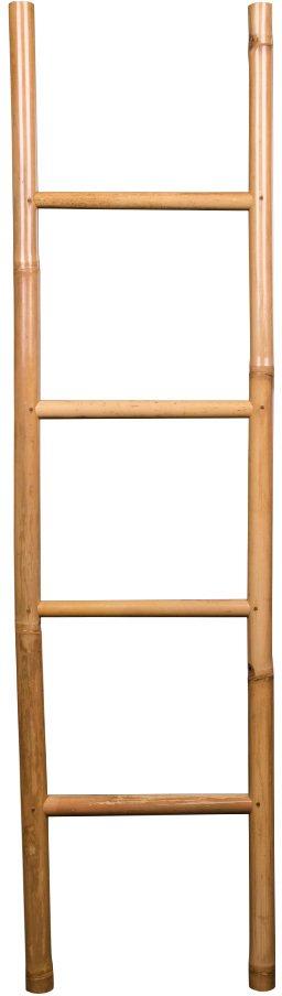 På billedet ser du variationen Bambus stige fra brandet Nordby i en størrelse H: 150 cm. B: 4 cm. L: 49 cm. i farven Natur
