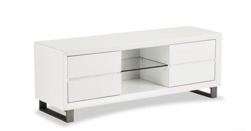 På billedet ser du variationen Ireby, TV-bord fra brandet Raymond & Hallmark i en størrelse H: 55 cm. B: 150 cm. i farven Hvid