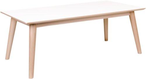 På billedet ser du variationen Vejgaard, Sofabord fra brandet Nordby i en størrelse H: 45 cm. B: 60 cm. L: 120 cm. i farven Hvid/Natur