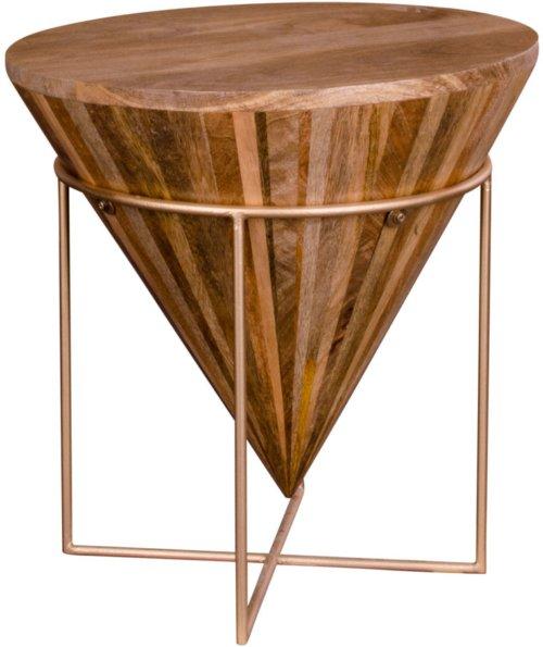 På billedet ser du variationen Hapur, Sofabord fra brandet Nordby i en størrelse H: 45 cm. B: 45 cm. L: 45 cm. i farven Natur/Messing