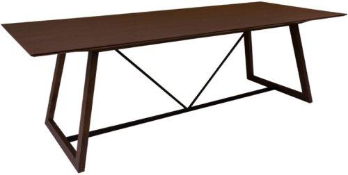 På billedet ser du variationen Hellerup, Spisebord stort fra brandet House Nordic i en størrelse H: 76 cm. B: 100 cm. L: 240 cm. i farven Mørk Natur