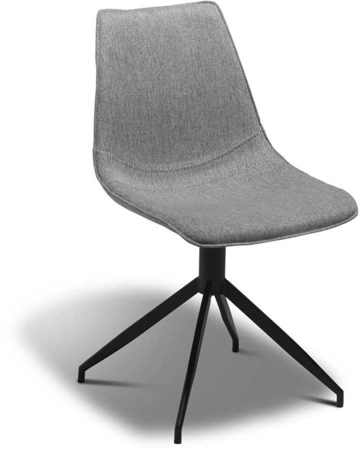 Image of   Montrose, Spisebordsstol, Stof by Raymond & Hallmark (H: 85 cm. B: 48 cm., Grå)
