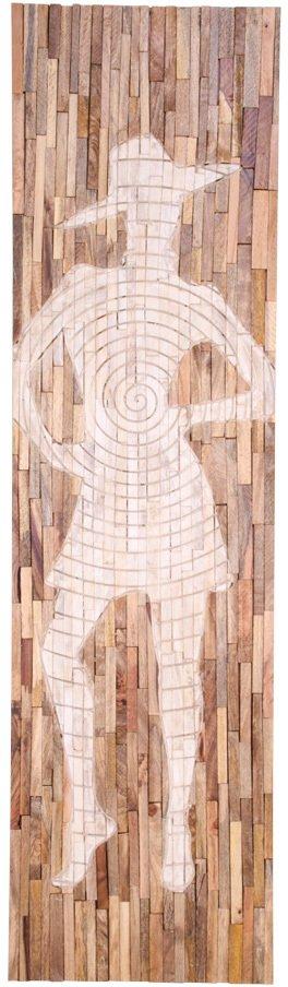 På billedet ser du variationen Jali, Vægdekoration fra brandet Nordby i en størrelse H: 183 cm. B: 3 cm. L: 50 cm. i farven Natur