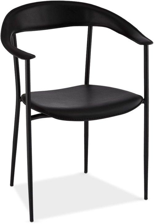 På billedet ser du variationen Penny, Spisebordsstol fra brandet Raymond & Hallmark i en størrelse H: 78 cm. B: 50 cm. i farven Sort