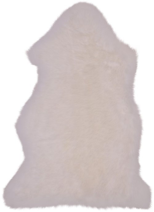 På billedet ser du variationen Lammeskind fra brandet Nordby i en størrelse H: 5 cm. B: 50 cm. L: 85 cm. i farven Hvid