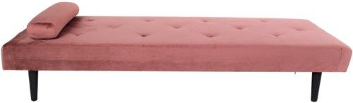 På billedet ser du variationen Daybed, Harndrup fra brandet Nordby i en størrelse H: 38 cm. B: 77 cm. L: 196 cm. i farven Pink