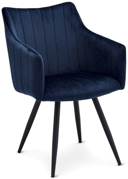 På billedet ser du variationen Douglass, Spisebordsstol, Stof fra brandet Raymond & Hallmark i en størrelse H: 81 cm. B: 57 cm. i farven Blå