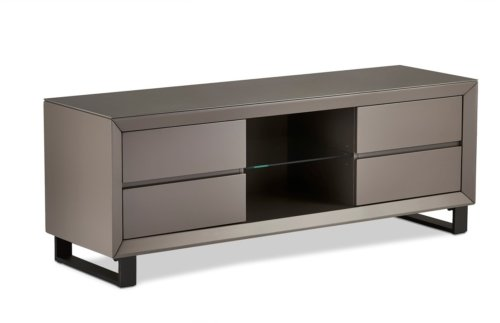 På billedet ser du variationen Newtown, TV-bord fra brandet Raymond & Hallmark i en størrelse H: 55 cm. B: 150 cm. i farven Sort