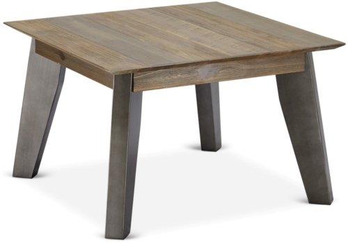 På billedet ser du variationen Derby, Hjørnebord, Akaciatræ fra brandet Raymond & Hallmark i en størrelse H: 45 cm. B: 70 cm. L: 70 cm. i farven Brun
