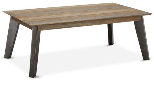 På billedet ser du variationen Derby, Sofabord, Akaciatræ fra brandet Raymond & Hallmark i en størrelse H: 52 cm. B: 80 cm. L: 140 cm. i farven Brun