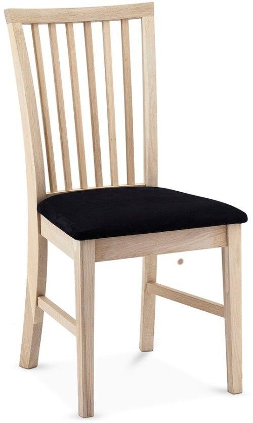 På billedet ser du variationen Reeth, Spisebordsstol, Egetræ fra brandet Raymond & Hallmark i en størrelse H: 93 cm. B: 52 cm. i farven Hvidolieret
