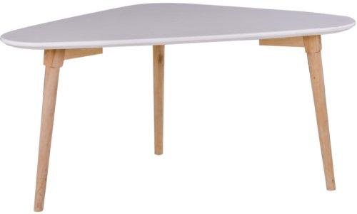 På billedet ser du variationen Monaco, Sofabord fra brandet Nordby i en størrelse H: 40 cm. B: 48 cm. L: 85 cm. i farven Hvid/Natur