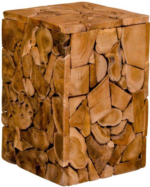 På billedet ser du variationen Taburet, Holsjev, Teak fra brandet House Nordic i en størrelse H: 45,5 cm. B: 29 cm. L: 29 cm. i farven Natur