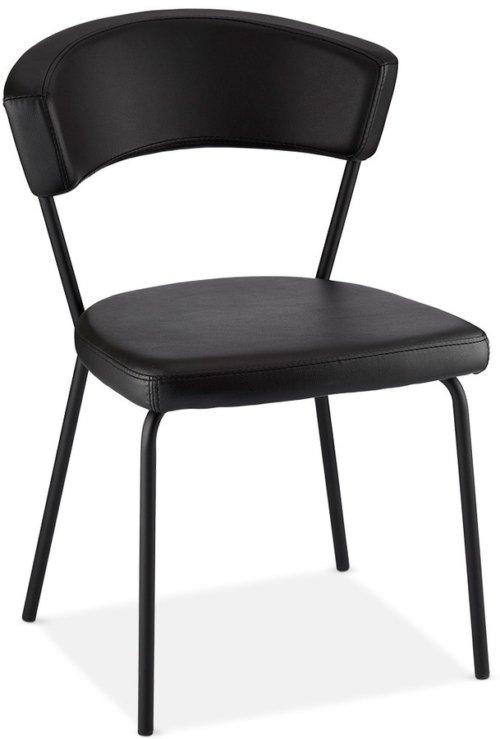 På billedet ser du variationen Gordon, Spisebordsstol, PU-læder fra brandet Raymond & Hallmark i en størrelse H: 81 cm. B: 56 cm. i farven Sort