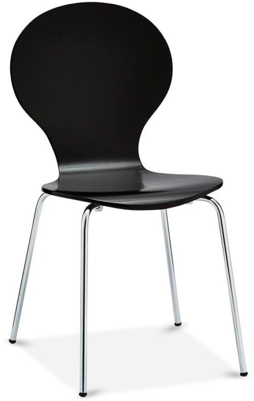 På billedet ser du variationen Stow, Spisebordsstol fra brandet Raymond & Hallmark i en størrelse H: 86 cm. B: 52 cm. i farven Sort