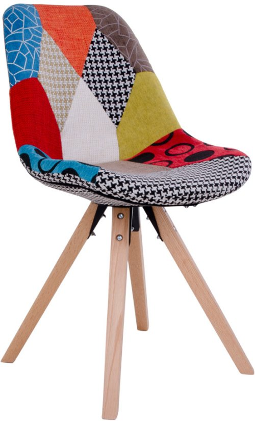 På billedet ser du variationen Svanfolk, Spisebordsstol fra brandet Nordby i en størrelse H: 86 cm. B: 49 cm. L: 56 cm. i farven Multi/Natur