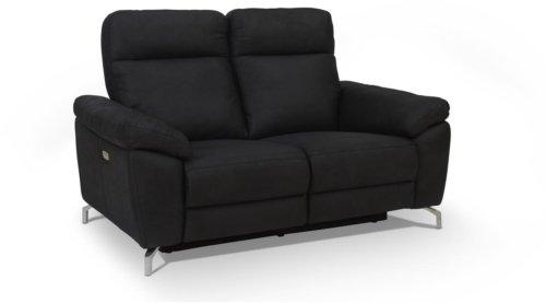 På billedet ser du variationen Edinburgh, Sofa, Stof fra brandet Raymond & Hallmark i en størrelse H: 101 cm. B: 162 cm. i farven Sort
