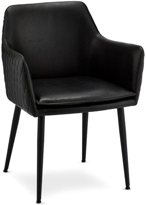 På billedet ser du variationen Waterside, Spisebordsstol fra brandet Raymond & Hallmark i en størrelse H: 84 cm. B: 62 cm. i farven Sort