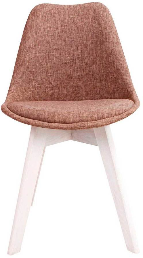På billedet ser du variationen Spisebordsstol, Rosa fra brandet Preform i en størrelse H: 86 cm. B: 53 cm. L: 49 cm. i farven Brun/Hvid