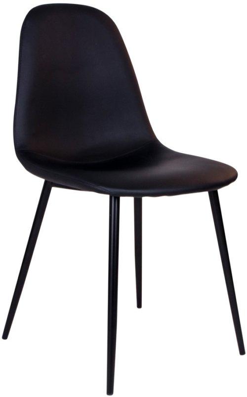 På billedet ser du variationen Havndal, Spisebordsstol fra brandet Nordby i en størrelse H: 88 cm. B: 47 cm. L: 50 cm. i farven Sort