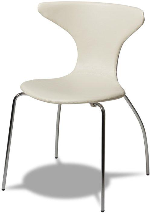 På billedet ser du variationen Ravenglass, Spisebordsstol fra brandet Raymond & Hallmark i en størrelse H: 86 cm. B: 56 cm. i farven Hvid