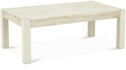 På billedet ser du variationen Harrington, Sofabord, Egetræ fra brandet Raymond & Hallmark i en størrelse H: 52 cm. B: 80 cm. L: 140 cm. i farven Hvidolieret