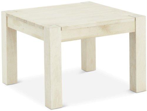 På billedet ser du variationen Harrington, Hjørnebord, Egetræ fra brandet Raymond & Hallmark i en størrelse H: 52 cm. B: 70 cm. L: 70 cm. i farven Hvidolieret