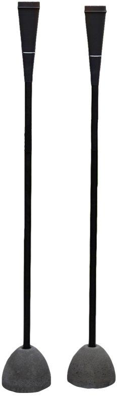 På billedet ser du variationen Kærgård, Torchmaster fra brandet House Nordic i en størrelse H: 9 cm. B: 9 cm. L: 145 cm. i farven Sort
