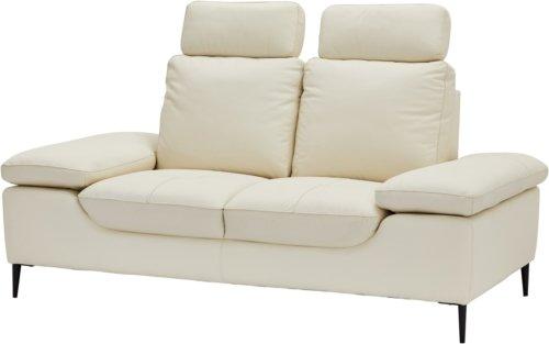 På billedet ser du variationen St. Annes, Sofa, Læder fra brandet Raymond & Hallmark i en størrelse H: 105 cm. B: 193 cm. i farven Fløde