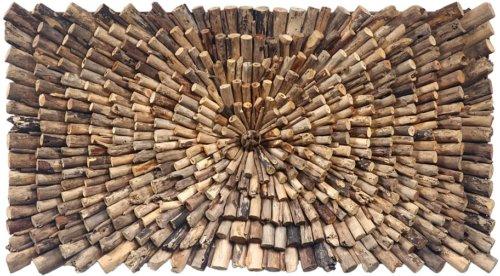 På billedet ser du variationen Wall, Dekoration fra brandet Nordby i en størrelse H: 70 cm. B: 14 cm. L: 120 cm. i farven Natur