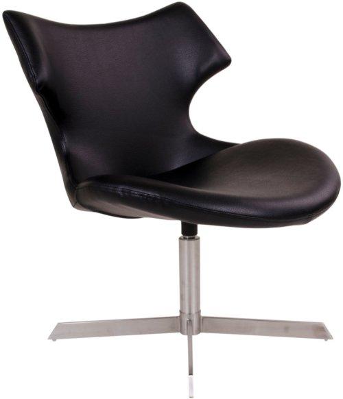 På billedet ser du variationen Kronsgaard, Lænestol fra brandet House Nordic i en størrelse H: 82 cm. B: 65 cm. L: 70 cm. i farven Sort
