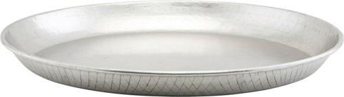 På billedet ser du variationen Bakke, Diamond fra brandet House Doctor i en størrelse Ø: 43 cm. H: 4 cm. i farven Sølv